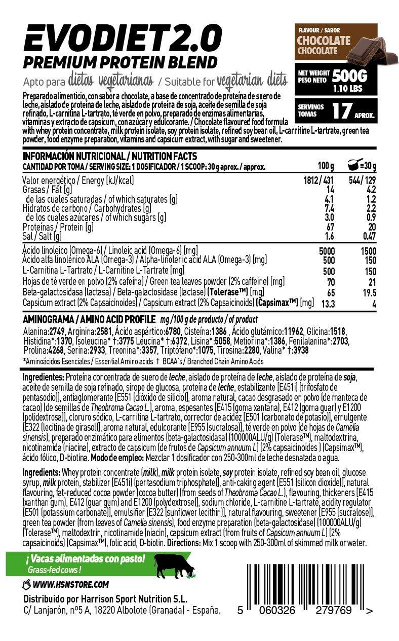Evodiet de HSN Sports | Batido de Proteinas para Adelgazar, con Té ...