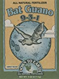 Down To Earth 17886 9-3-1 Bat Guano Fertilizer Mix, 1/4 lb