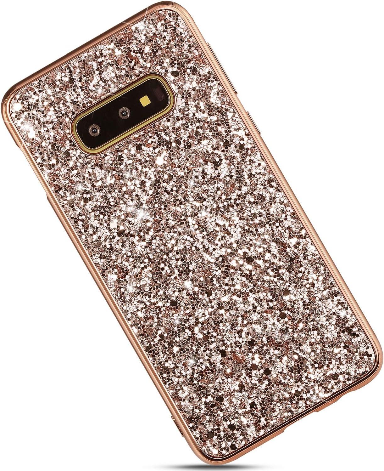 Case for Galaxy S10e Case Cover,Luxury Glitter Sparkle Sequin ...