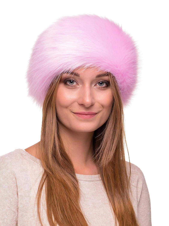 a9eb63e6cef Futrzane Winter Faux Fur Headband for Women and Girls  (Siberian Wolf )  Futrzane