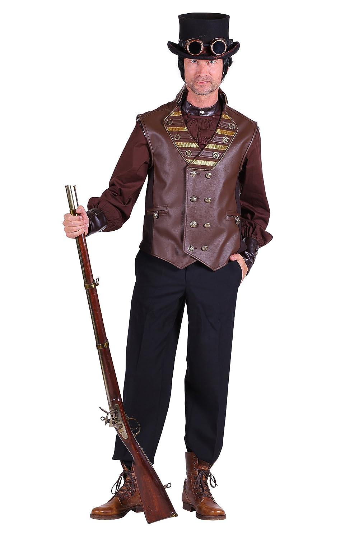 Steampunk-Weste   Luxus Steampunk-Kostüm (XXXL) B07D9P11KG Kostüme für Erwachsene Billig  | Shop Düsseldorf