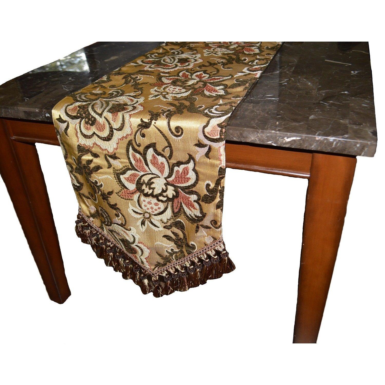 Canaan Company Pamela Decorative Table Runner 108''