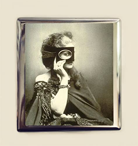 Amazon countess de castiglione cigarette case business card id countess de castiglione cigarette case business card id holder wallet masked mystery woman royalty italian aristocrat reheart Gallery