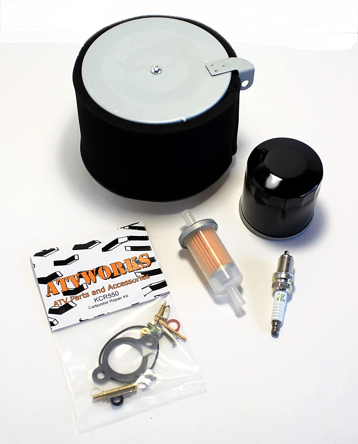 Kawasaki Mule Air Oil Fuel Filter Replacement Kit
