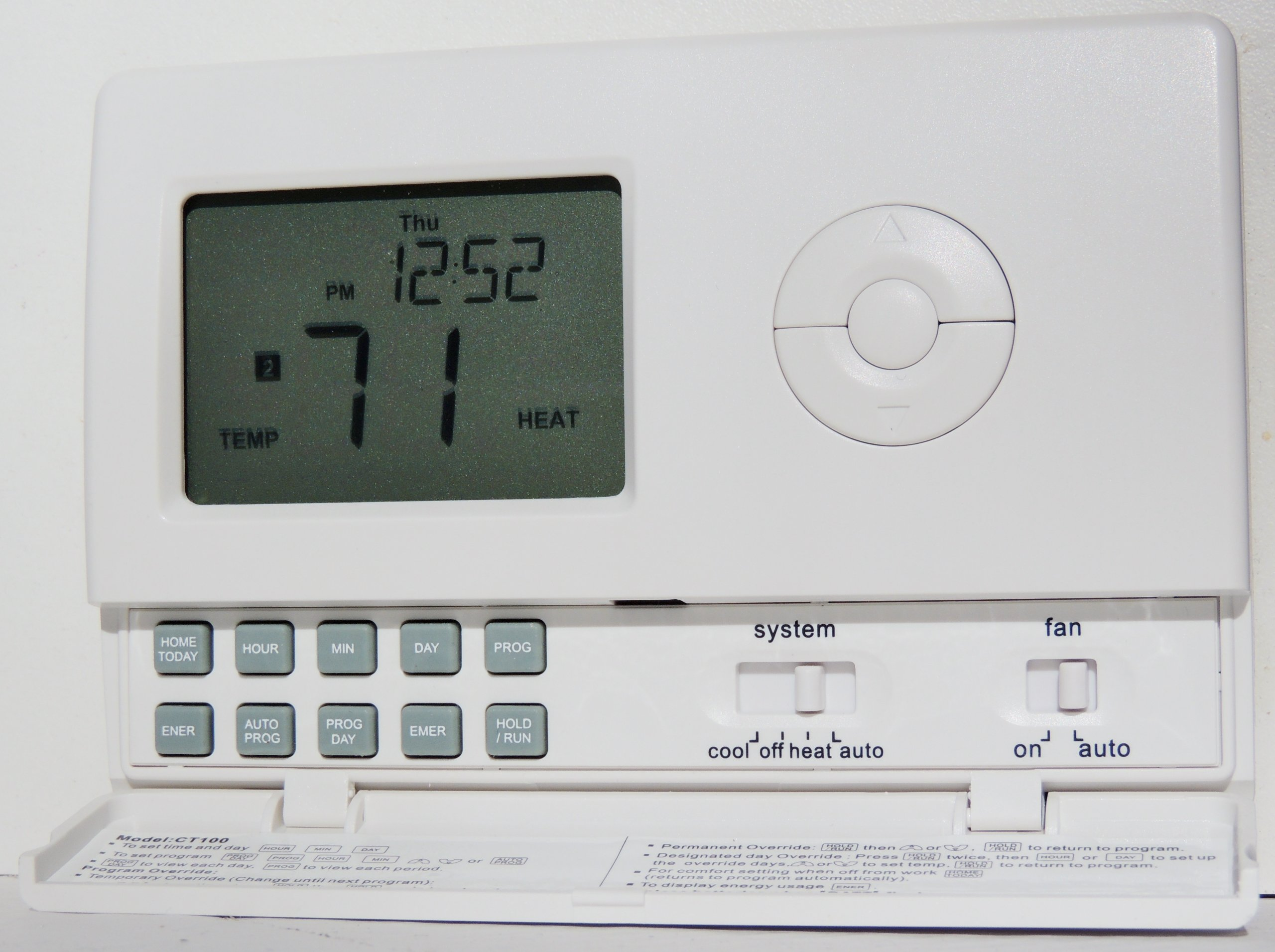 ControlTemp CT100 Standard Tamper Proof Thermostat by ControlTemp Thermostats (Image #2)