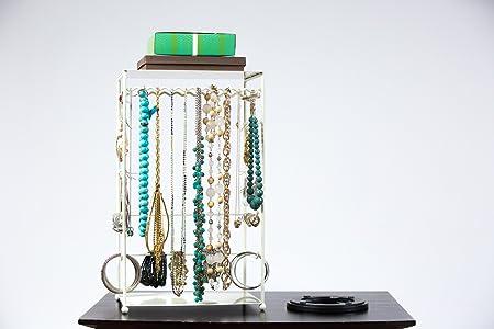 Soporte para joyas con tocadiscos - Collar, pulsera ...