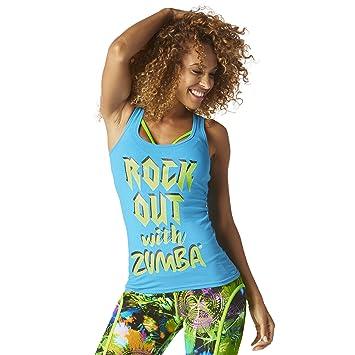 Zumba Fitness Z1t01300 Débardeur Femme  Amazon.fr  Sports et Loisirs 6e83220cc74