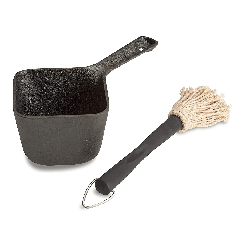 Cuisinart CBP-300 Cast Iron Basting Pot and Brush