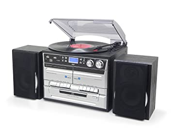 Amazon.com: Soundmaster mcd5500 HIFI sistema FM/DAB Radio CD ...