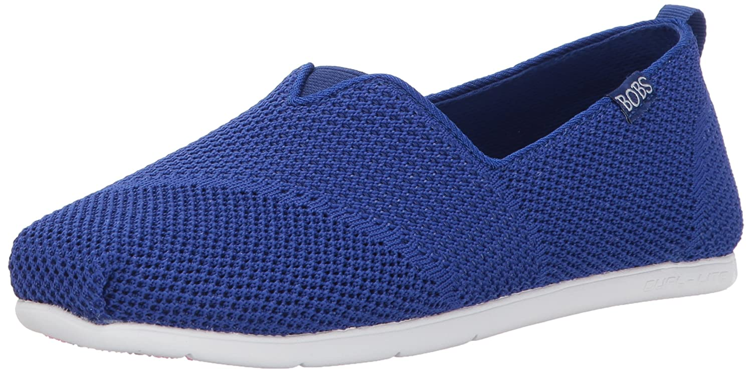 Skechers Bobs Damen Slipper Plush Lite Blau  10 B(M) US