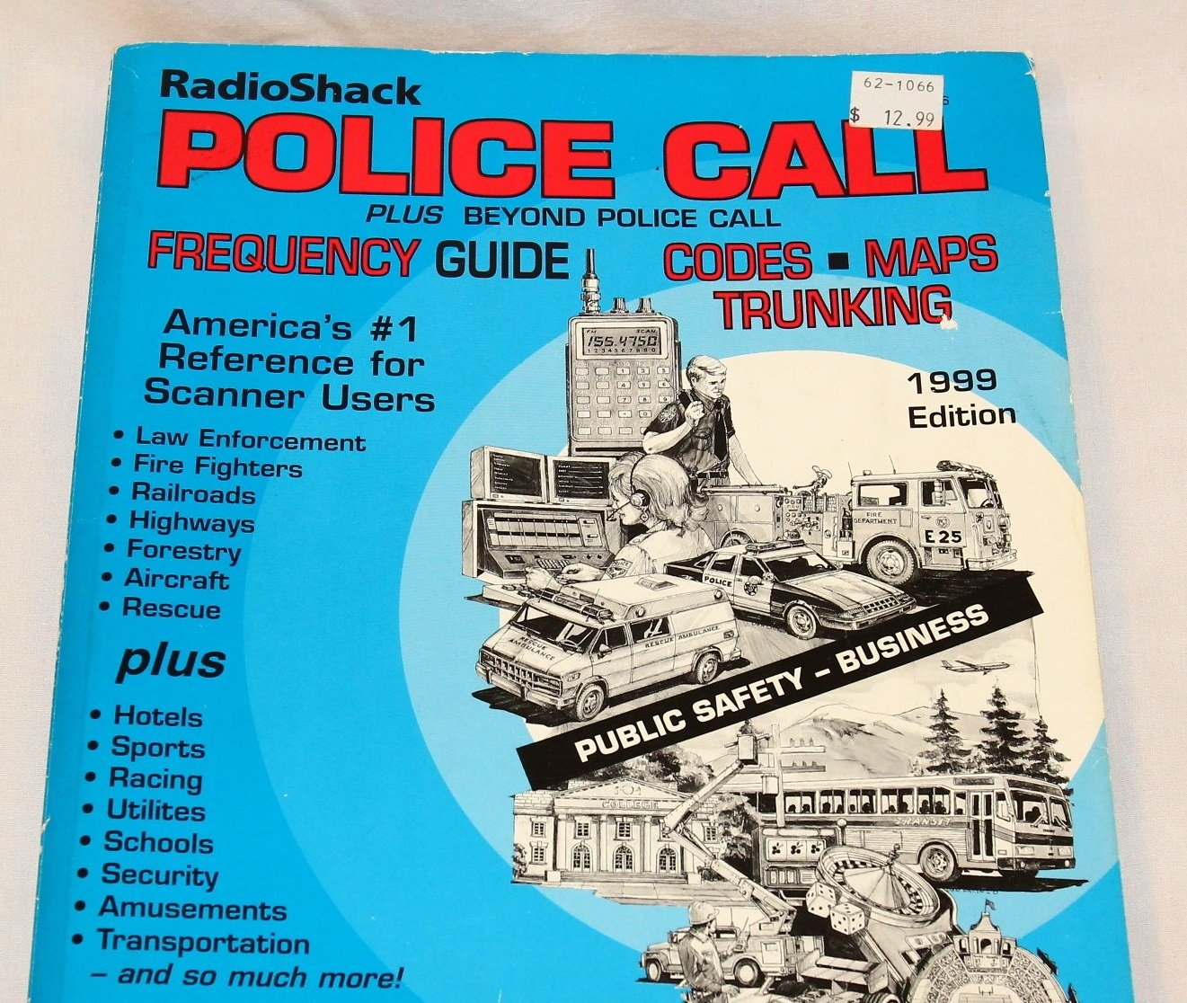 Radio Shack Police Call Plus Beyond Police Call Frequency