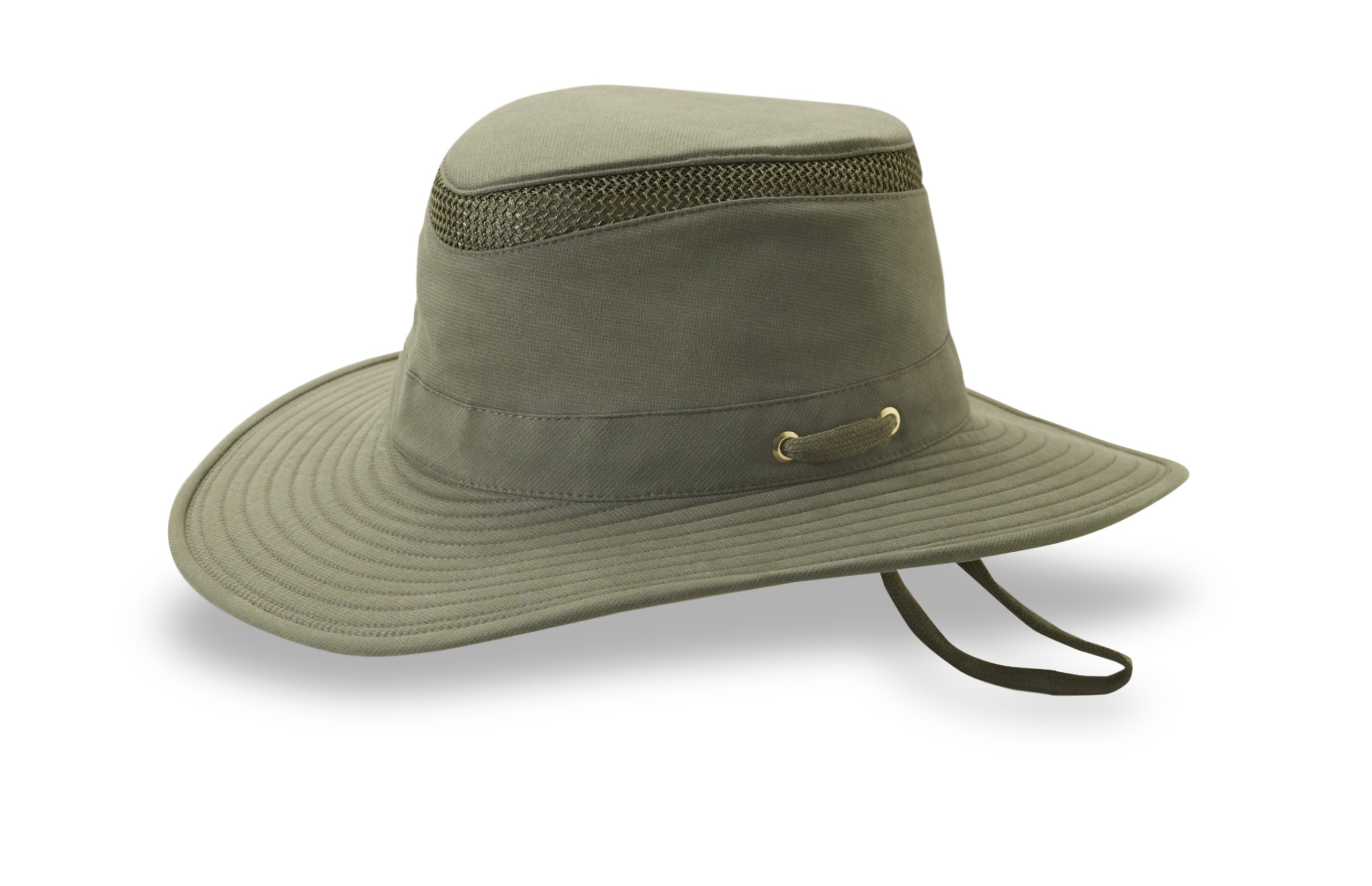 Tilley Endurables T4MO Eco-Airflo Hat,Olive,7.625