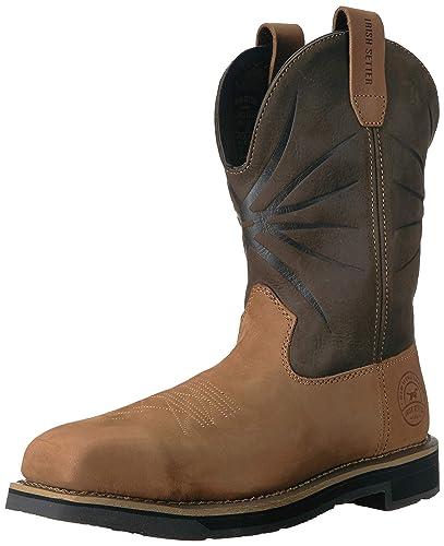ec90939644c9 Amazon.com  Irish Setter Men s Walker Safety Toe Western Boot  Shoes