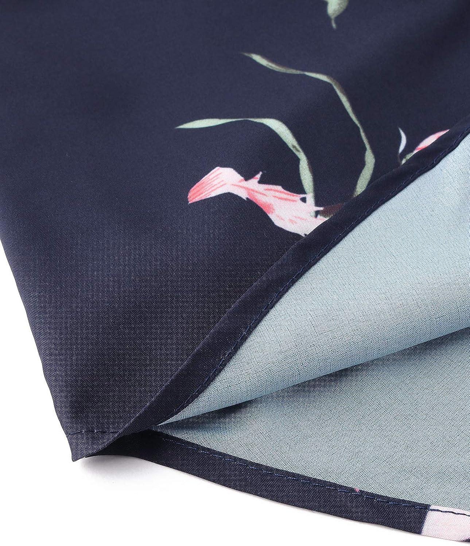YOINS Canotta Donna Eleganti Canottiera Cotone Intimo Top Senza Maniche Estivo Camicette Floreale Bluse Moda da Spiaggia Floreale-30 M//EU40-42