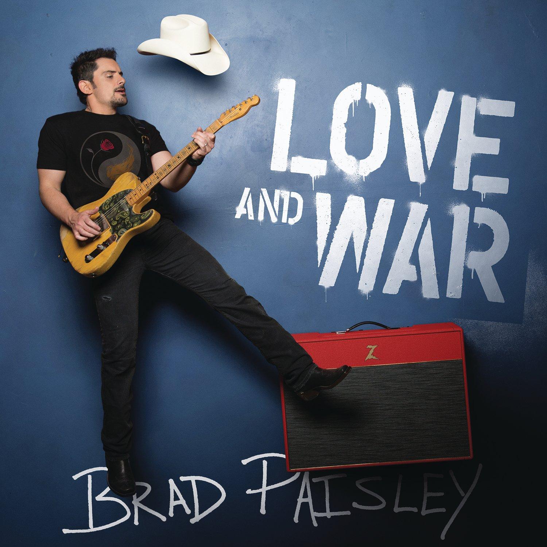 CD : Brad Paisley - Love And War (CD)