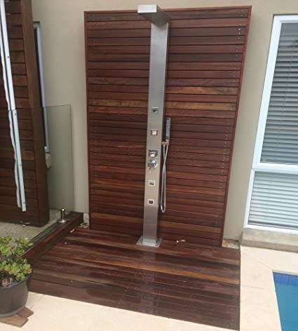 316 Marine Grade Stainless Steel Massage Outdoor Indoor Shower Panel Unit CUPC RegisteredWINDSOR