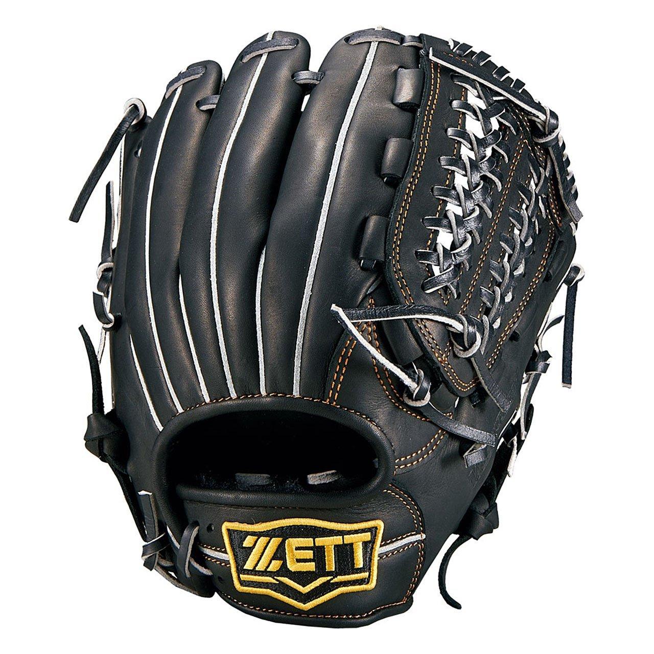 ZETT(ゼット) 野球 軟式 オールラウンド グラブ(グローブ) ウイニングロード (右投げ用) BRGB33740 B01M29ZEL2  ブラック