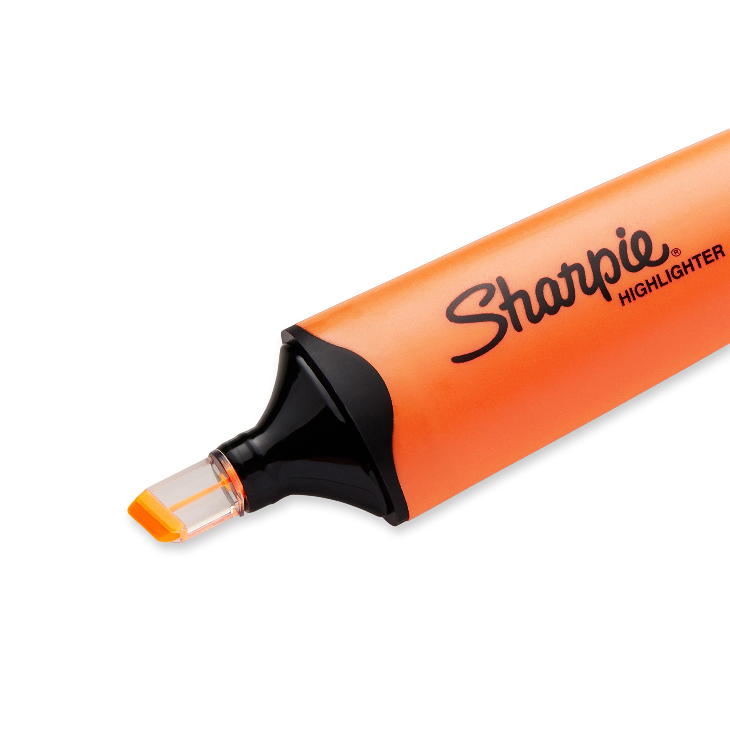 Sharpie Clear View Highlighter, Chisel Tip, 12-Pack, Orange (1897849) by Sharpie (Image #3)