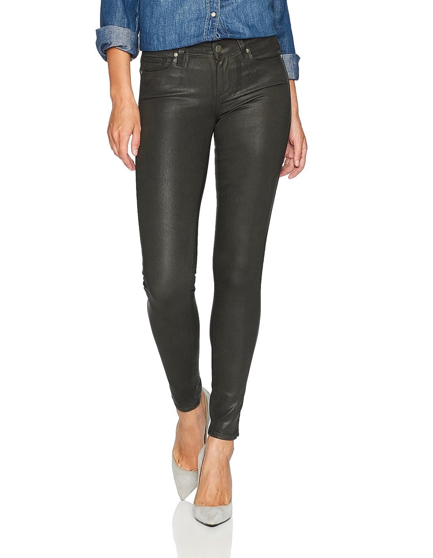 Deep Juniper Luxe Coating PAIGE Womens Verdugo Ultra Skinny Jeans