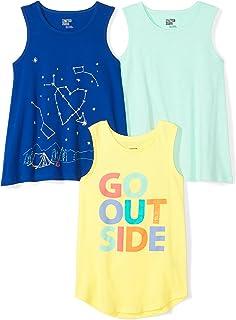 4532375f93b1 Amazon.com  Juicart Girls Kids Anchor Vest Sleeveless Summer Clothes ...