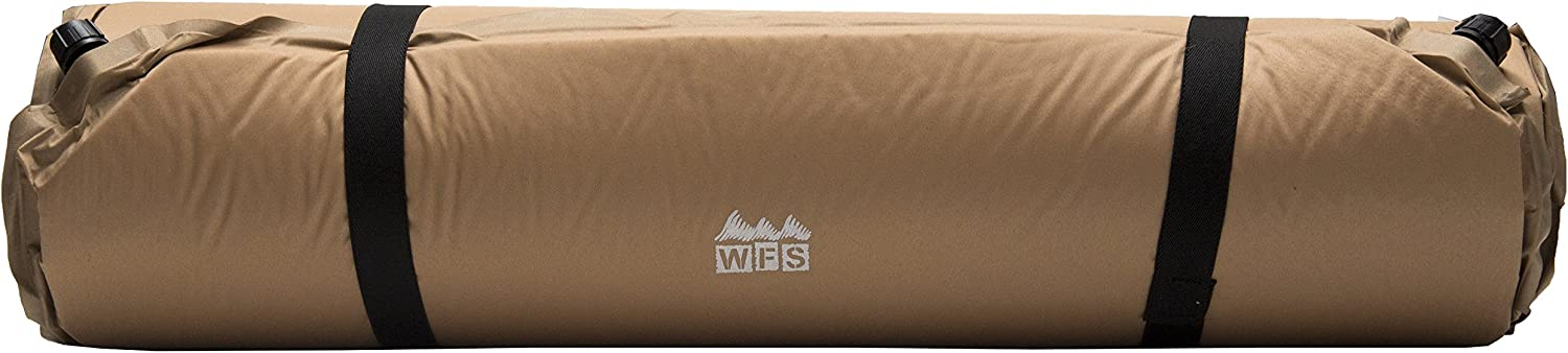 World Famous Sports Self Inflating Camping Sleeping Pad