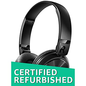 128935b3f6b Buy (Certified REFURBISHED) Philips SHB3060BK/00 Bluetooth Headphones  (Black) Online at Low Prices in India - Amazon.in