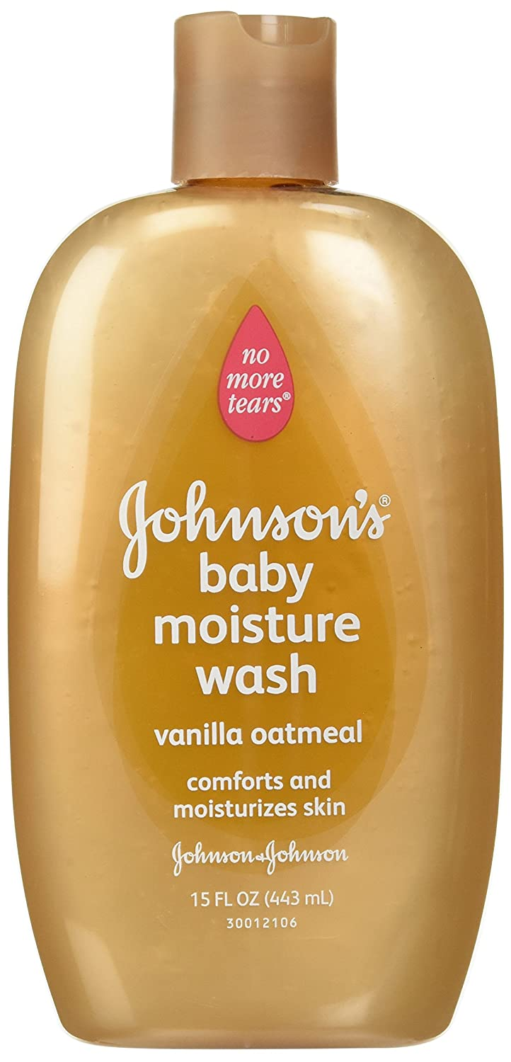 Jonnson & Johnson Baby Wash Vanilla Oatmeal 445 ml (Körperwäschen) Johnson & Johnson J&J154542