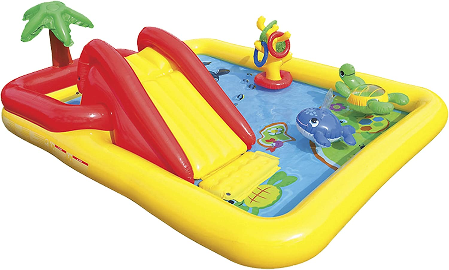 Top 11 Best Water Slide Pools Inflatable (2020 Reviews) 11