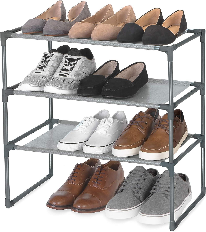 Smart Design Shoe Rack Shelf