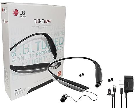 Por JBL – LG Tone Ultra 810 Bluetooth auriculares estéreo inalámbricos con cargador de coche,