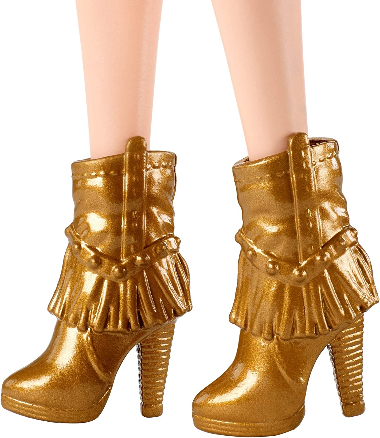 NEW Barbie Fashionista Original /& Petite Doll Brown Boots ~ Flat Shoes Clothing
