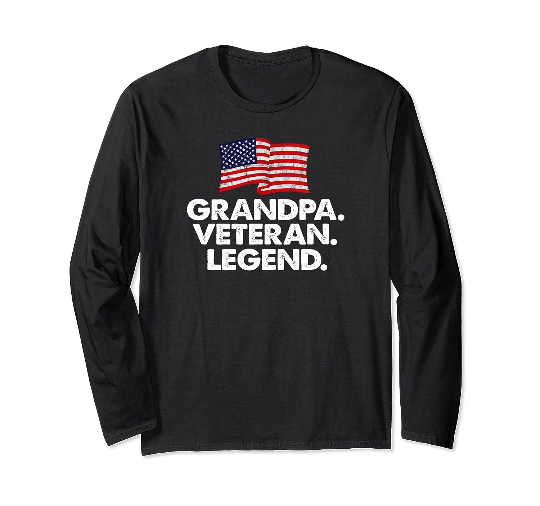 Grandpa Veteran Legend T Shirt – Family Gift Tee-Samdetee