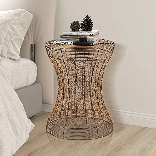 FINECASA Accent Side Table,Small End Table,Bedside Table