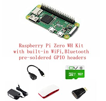 Development Kit Basic Components Pzsmocn Raspberry Pi Zero Wh With