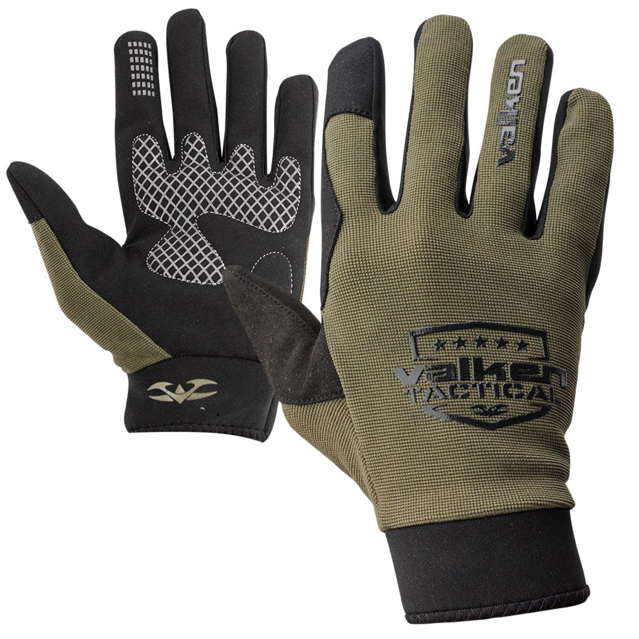 Valken Tactical Sierra II Gloves withシリコングリップとタッチスクリーン機能 オリーブ Medium Mediumオリーブ B00MJ8MKZO