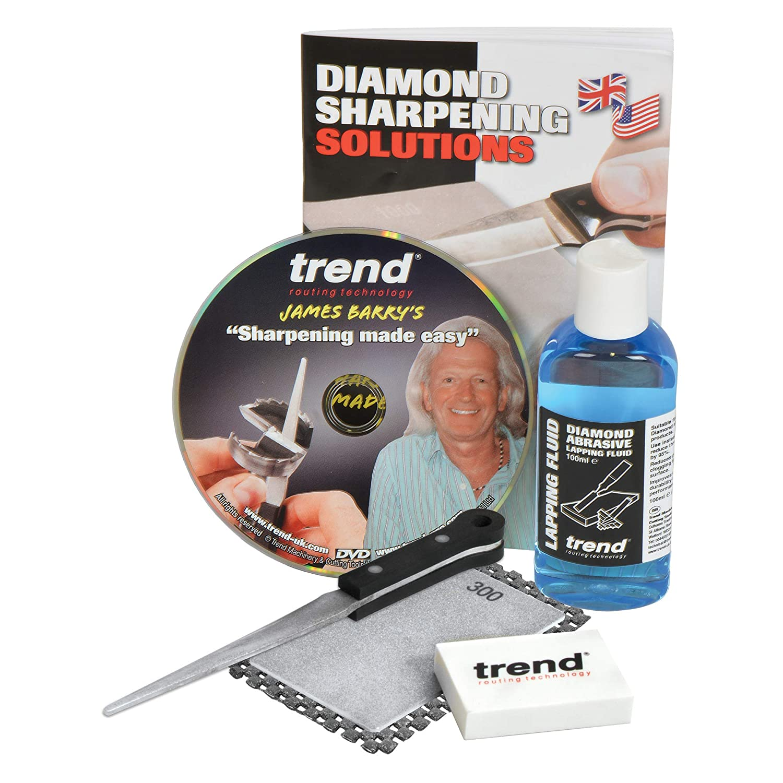 Trend DWS TF6 6in Diamond Taper File