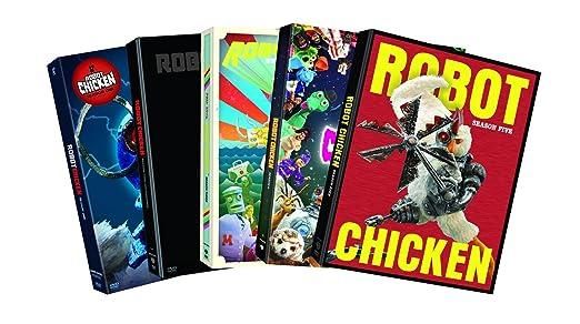 amazon com robot chicken season 1 season 5 5 pack dvd various