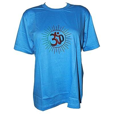 Odishabazaar Casual Wear Unisex Mens Yoga T- Shirt L (Multi-2) | .com