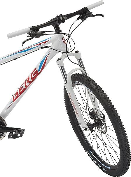 Berg Bikes Bicicleta Montaña Blanco/Rojo M: Amazon.es: Deportes y aire libre