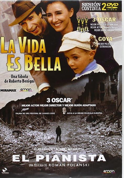 Pack: La Vida Es Bella + El Pianista [DVD]: Amazon.es: Roberto ...