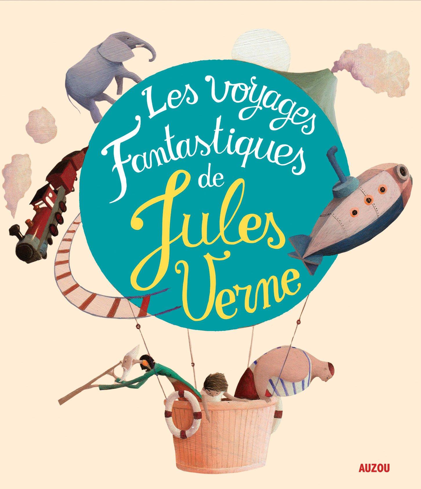 Les Voyages Fantastiques De Jules Verne Coll Recueil Universel Recueils Universels French Edition Claude Carre Eric Puybaret Marjolaine Revel 9782733830543 Amazon Com Books