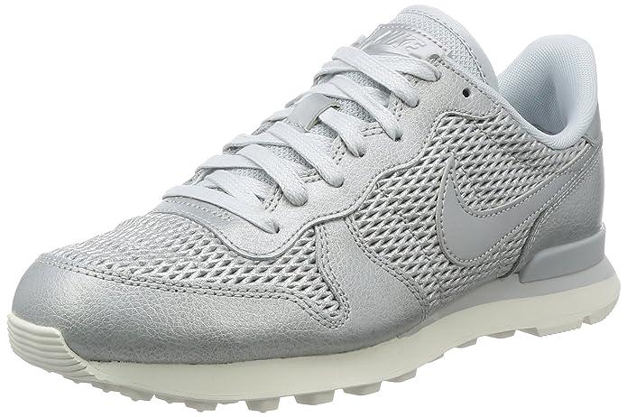 Damen Internationalist Damen Nike Premium SneakerArgentplatine Nike Internationalist kOZuPXiT
