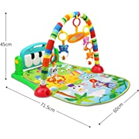 Magicwand Kick & Play Multi-Function Piano Baby Gym & Fitness Rack (Multi-Colored)
