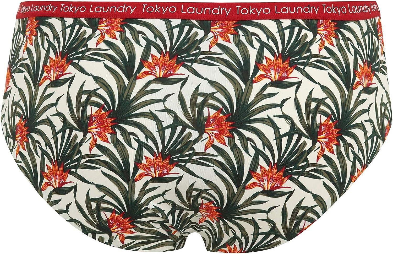 3 St/ück nahtlos Tokyo Laundry Damen Unterhose ohne VPL
