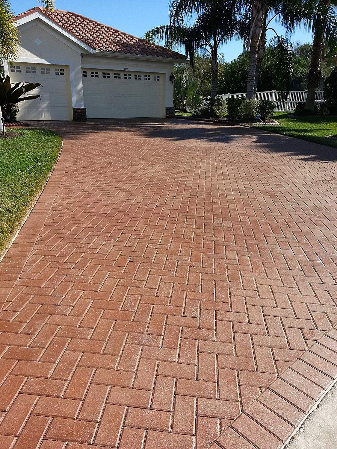 5 Gallon Dominator LG+, Low Gloss Paver Sealer (Wet Look), Commercial Grade, Water Based, Color Enhancing, Easy Application