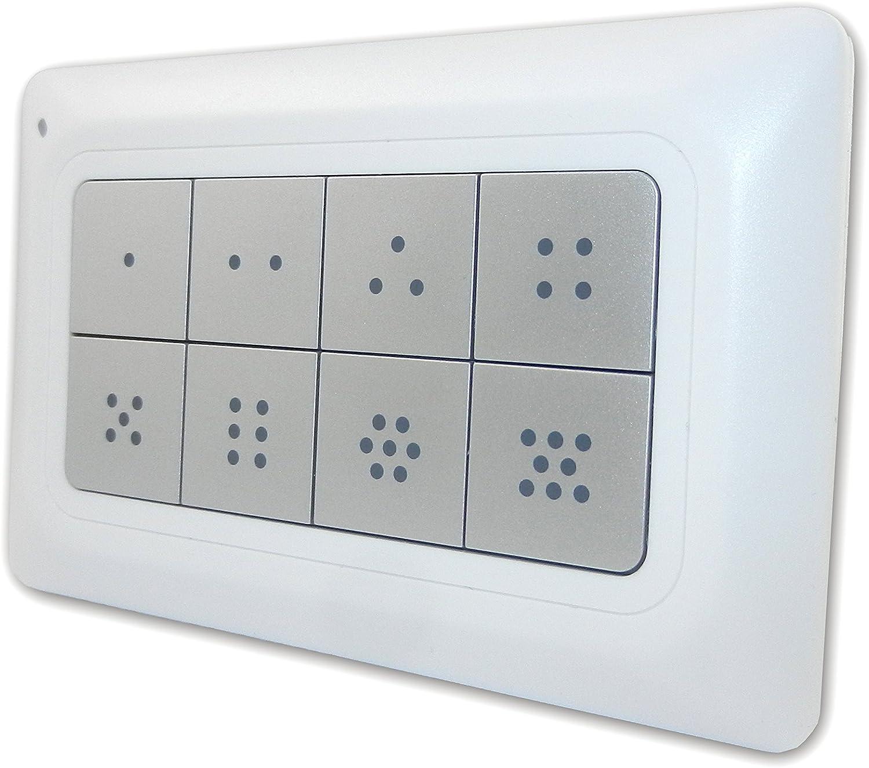 Remotec Scene Master Controlador de Escena con Z-Wave-Plis 1/Pieza REMEZRC90