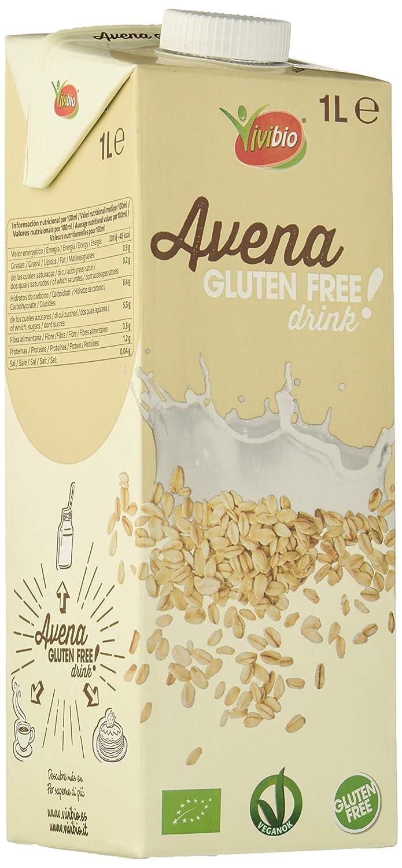 Bebida de avena sin gluten - caja de 6 uds de 1000 ml. (Total 6000 ml.)