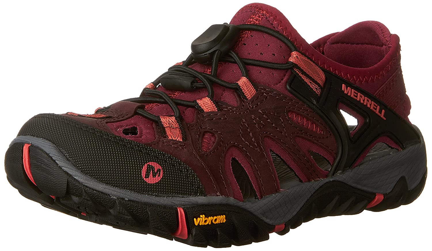 MultiCouleure (Vineyard Wine) 41 EU Merrell All Out Blaze Sieve, Chaussures de Randonnée Basses Femme