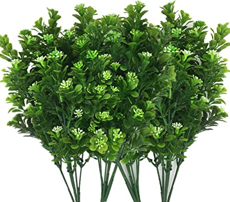 Home Office Wedding Decor Foliage Bush Fake Leaf Artificial Plant Green Grass