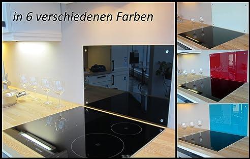 Spritzschutz 6Mm Glas Herdschutz, Glasplatte, Glasrückwand